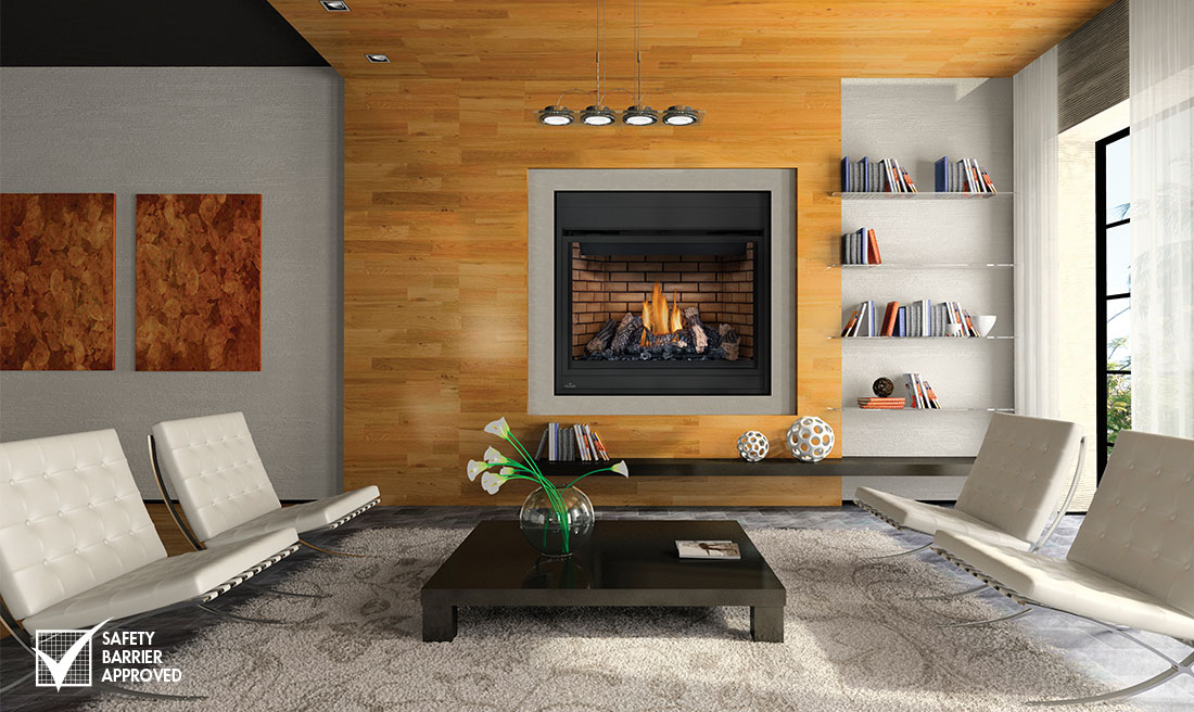 Fireplace Design napoleon fireplace reviews : Napoleon High Definition 46 - Napoleon HD46 Gas Fireplace ...
