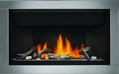 Napoleon Direct Vent Gas Fireplaces Ascent Linear BL36 Fireplace