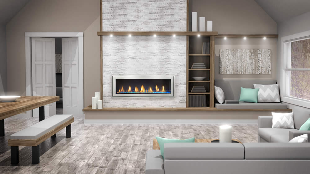image product fireplaces gas products linear napoleon fireplace main