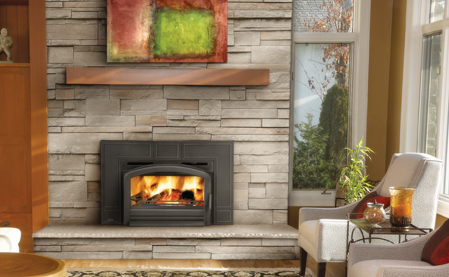 Napoleon epi3 wood fireplace insert fireplacepro Contemporary wood fireplace insert