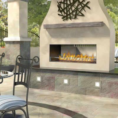 Napoleon GSS48 Outdoor Gas Fireplace