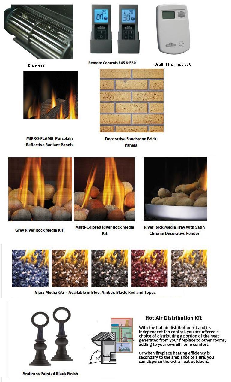 napoleon high definition 46 napoleon hd46 gas fireplace