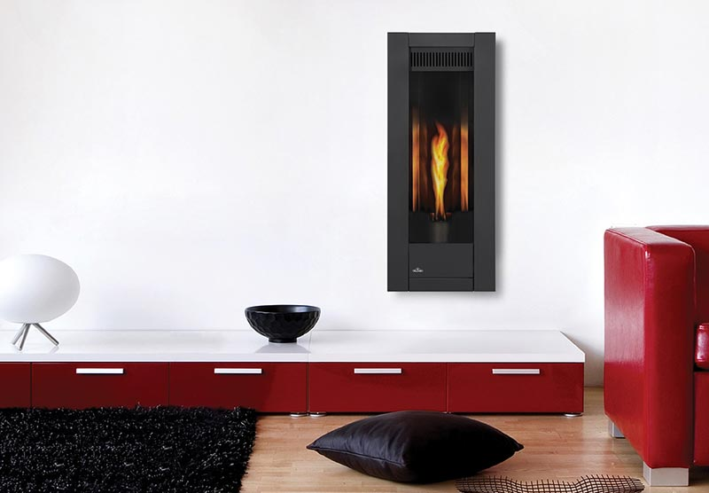 napoleon torch vertical fireplace