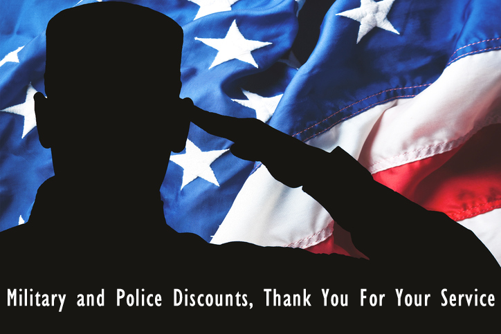 Military and Police Discounts