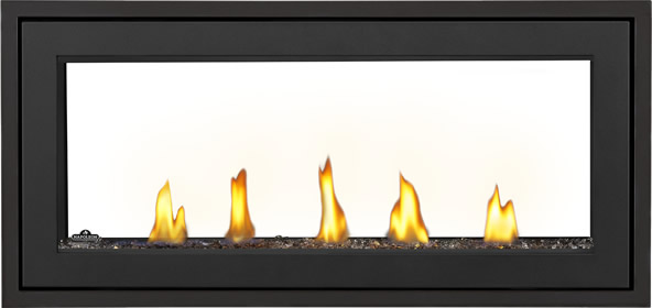 Acies L38ST Prod Straight Topaz Glass Standard Barrier Black 1in Trim Black No Screen