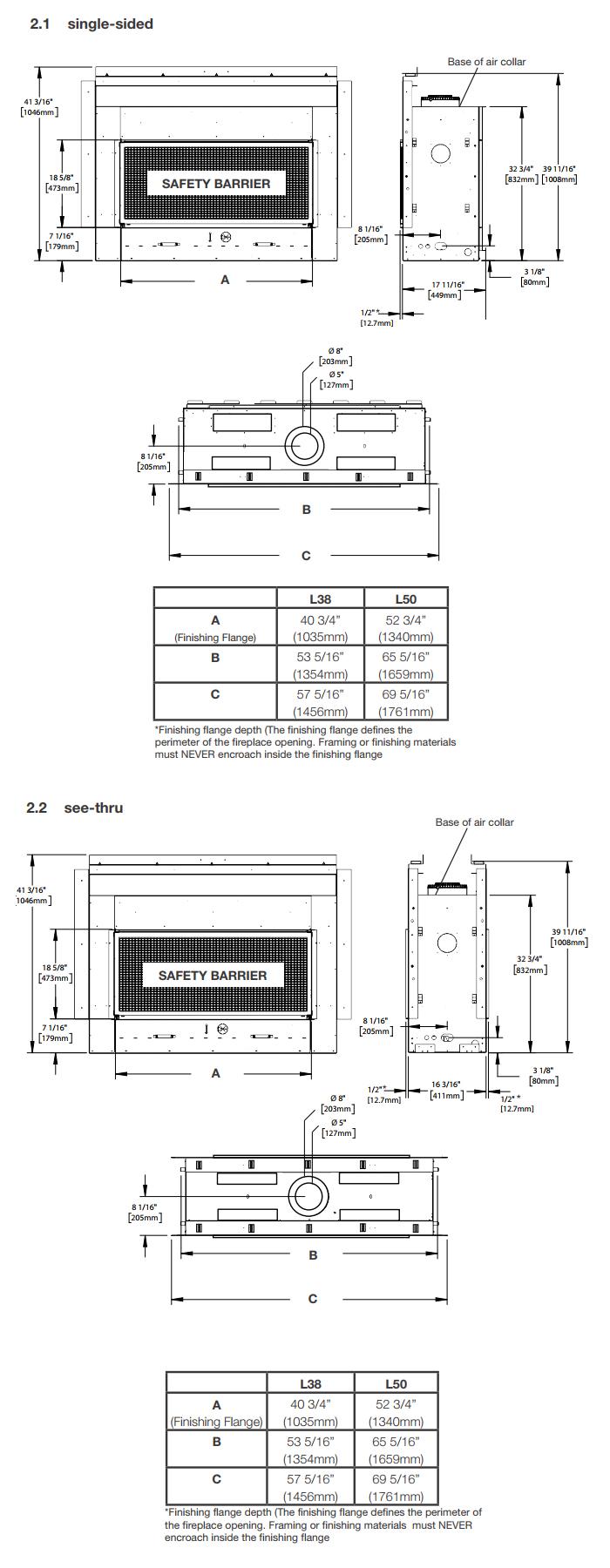 napoleon acies l50 gas fireplace u2013 fireplacepro