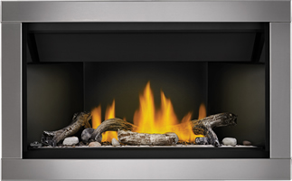 Acsent BL36 Shore Fire Driftwood Silver Surround