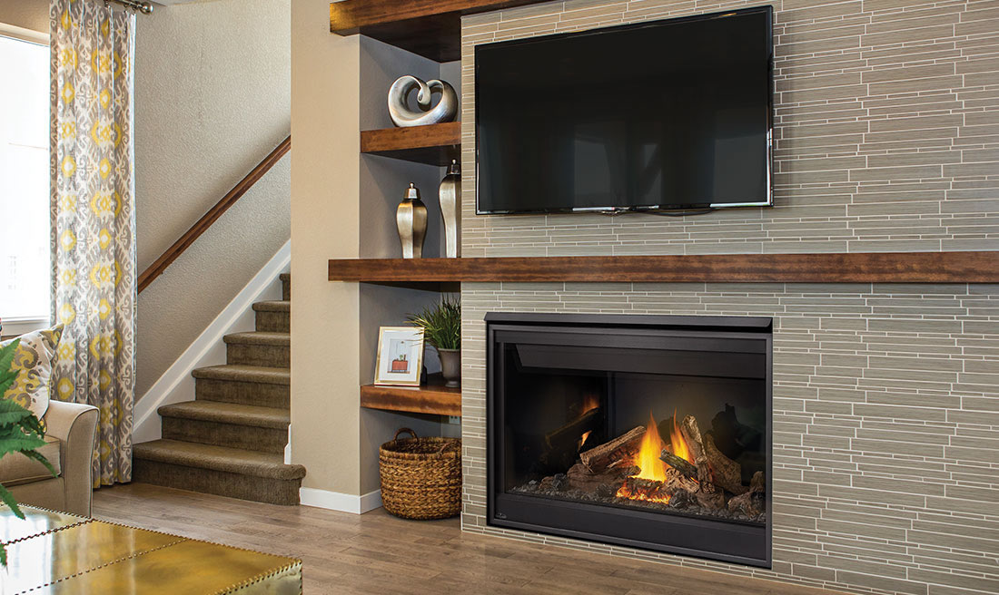 Napoleon Ascent 46 B46 Direct Vent Gas Fireplace