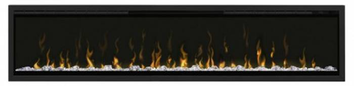 Dimplex Ignite 74 shown with trim kit