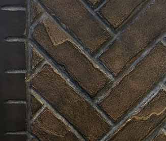 Outdoor Lifestyles Fortress Herringbone Brick Refractory