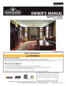 Click for the Napoleon Oakville X4 manual