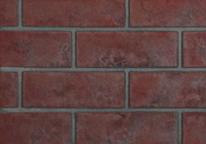 Old Town Red Decorative Brick Panels