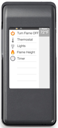 Majestic IntelliFire Touch Remote RC400 (included)