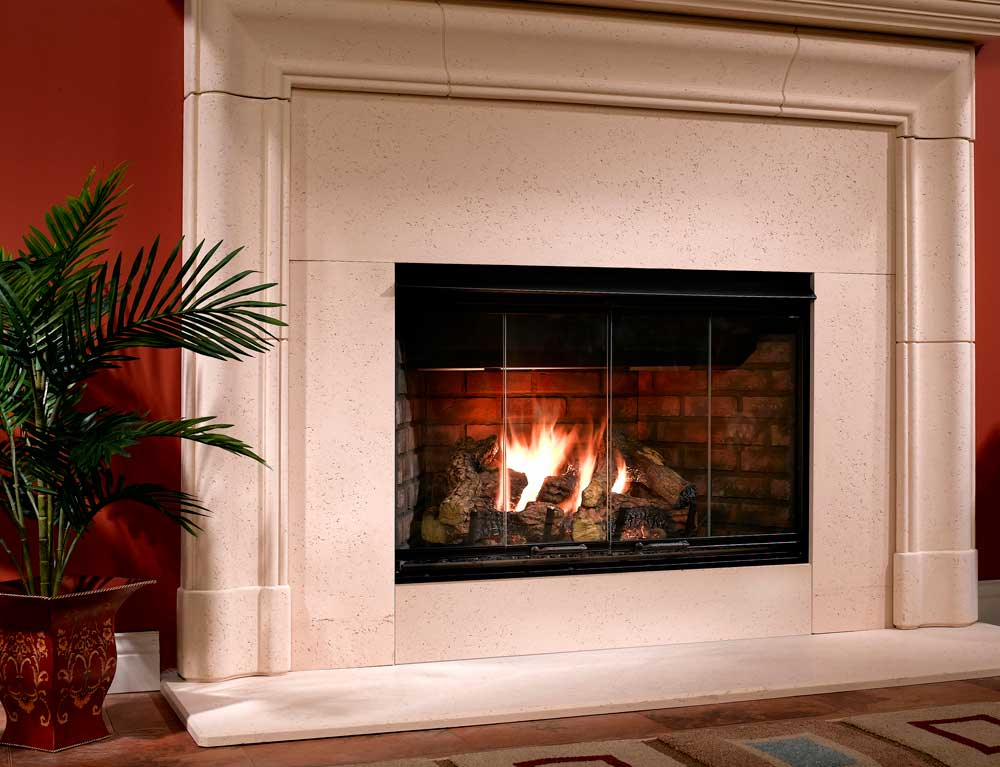 Majestic Reveal B-Vent Gas Fireplace