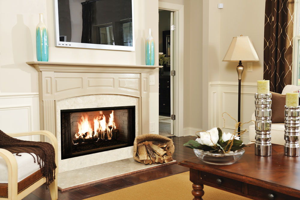 Majestic Royalton Wood Burning Fireplace