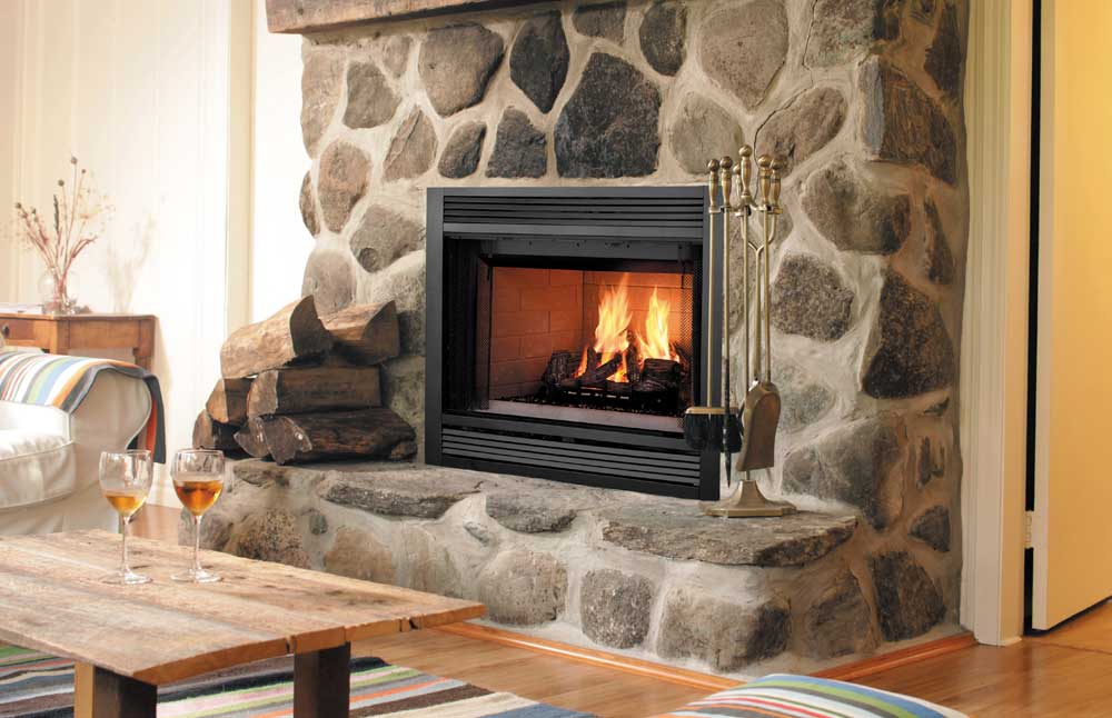Majestic Sovereign Wood Burning Fireplace Heat Circulating SA36C SA42C