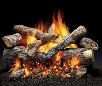 Grand Oak Outdoor Gas Logs