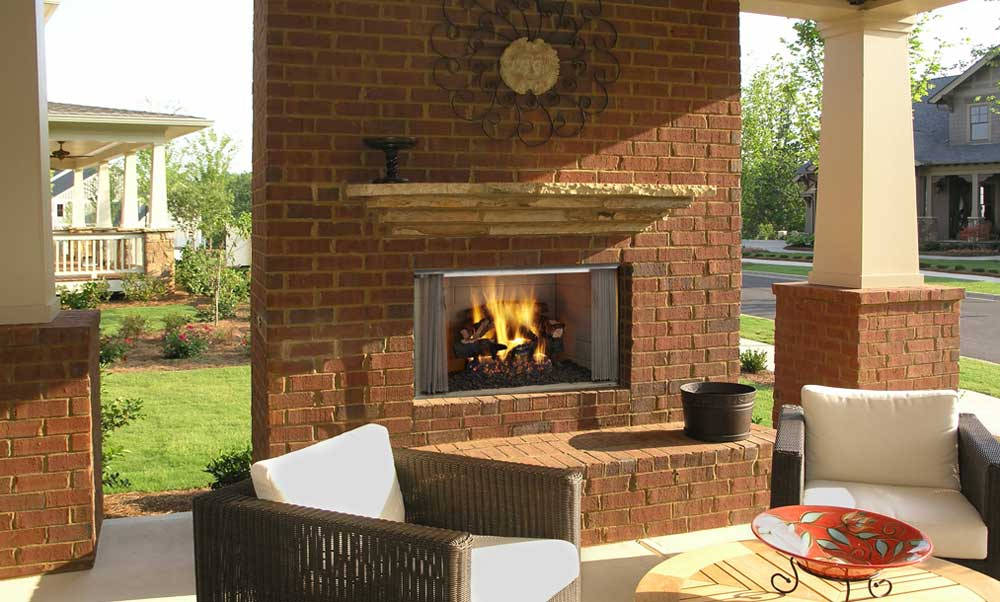 Outdoor Lifestyles Villawood Wood Burning Fireplace