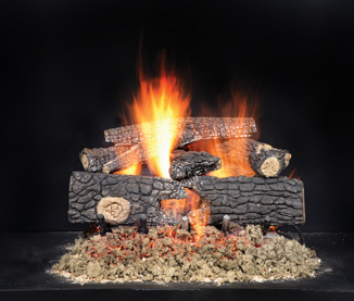Fireside Realwood Outdoor Gas Logs