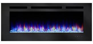 SimpliFire Allusion Blue-Orange Flame