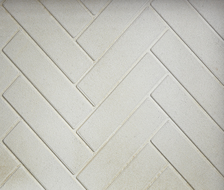 Herringbone Molded Firebrick Panels