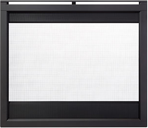 Outdoor Lifestyles Twilight Modern Interior Firescreen Front