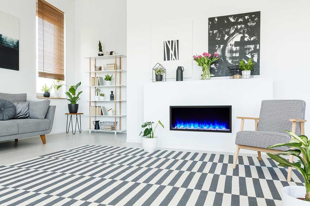 SimpliFire Scion Electric Fireplace by Majestic