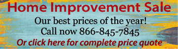 Home Improvement Sale Call Now 866-845-7845