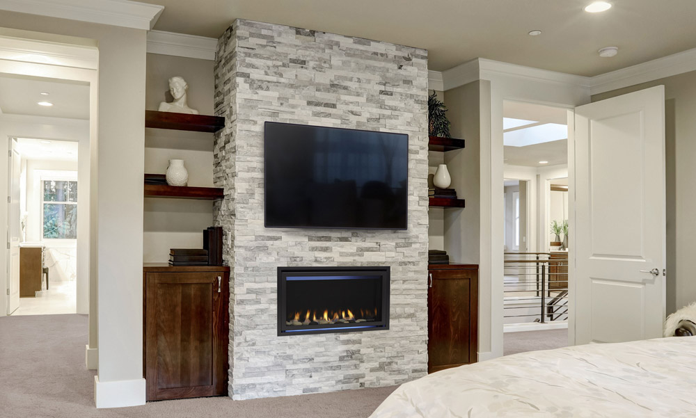 Majestic Jade Series Linear Gas Fireplace