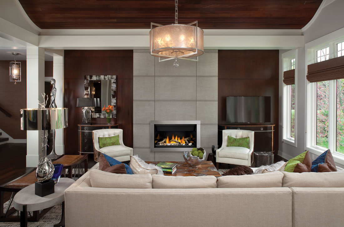 Napoleon Ascent linear gas fireplace BL36NTE-1