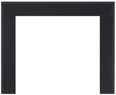 "image of optional Bevelled Trim Kits -Textured Painted Black Finish, Available in 6"" and 3"" widths"