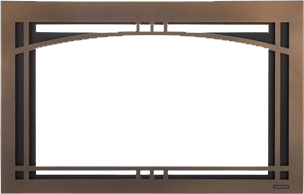 Majestic Insert Contemporary Arch Front