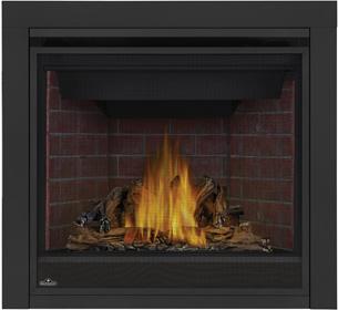 Napoleon Ascent GX36-1 PHAZER® Log Set, Old Town Red Brick Panels, 3