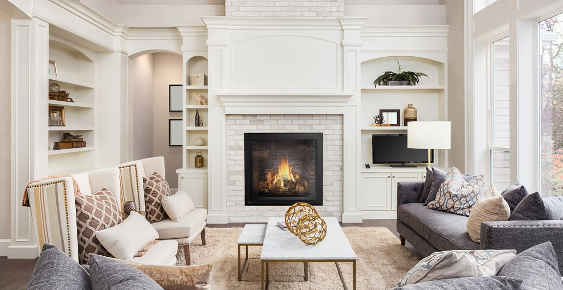 Napoleon STARfire HDX52 shown in modern living room