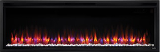 Image of SimpliFire Allusion Platinum Blue-Orange Flame