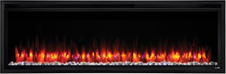 Image of SimpliFire Allusion Platinum Orange-Blue Flame