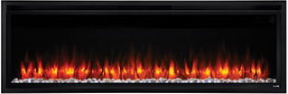 Image of SimpliFire Allusion Platinum Orange Flame