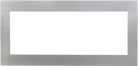 Image of Napoleon Vector Brushed Stainless Steel Surround with Premium Safety Barrier SLF38SS