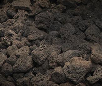 Majestic lava rock media