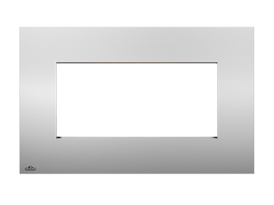 Image of Rectangular Stainless Steel Surround with Safety Barrier S31RSSSB for Plazmafire 31