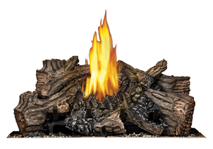 image of PHAZER log burner for Napoleon High Definition HD81 gas fireplace