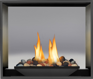 Click for more information on Napoleon High Definition HD81 see-thru gas fireplace