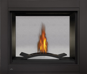 Click Image for more information Napoleon Ascent Multi-View BHD4 See-Thru Model with Fire Cradle