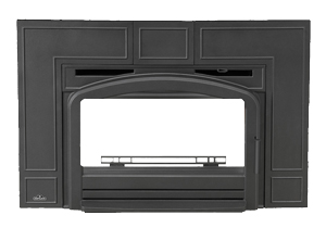 image of Napoleon EPI traditional black cast iron surround