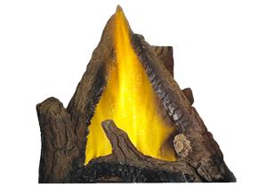 image of Log Set Burner Assembly for Napoleon Vittoria gas fireplace