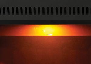 Image of NIGHT LIGHT standard feature on Napoleon Park Avenue gas fireplace