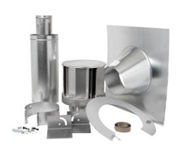 image of Napoleon roof terminal venting kit for direct vent gas fireplaces