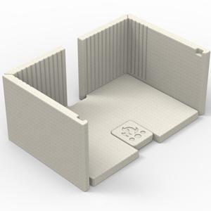 Osburn Inspire Moulded Refactory Panel Kit
