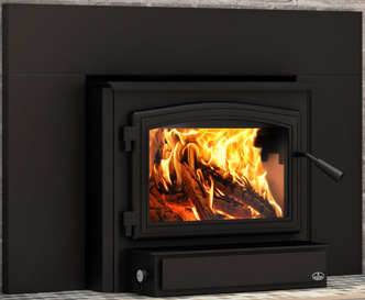 Click image for more information on Osburn 2000 Wood Burning Fireplace Insert
