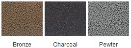 Majestic Bronze Charcoal Pewter Finishes